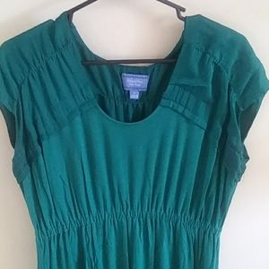 Simply Vera by Vera Wang emerald green dress